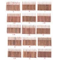 10pcs/lot 900M-T-K Diamagnetic copper soldering iron tip Lead-free Solder tipLDU