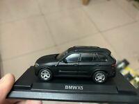 BMW X5 Matt Black 1:64 Scale Die-Cast Model Car New in Box
