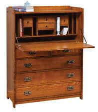 New Amish Mission Solid Quartersawn Oak Desk Custom Built