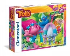 TROLLS Poppy MAXI PUZZLE 104 pezzi  bambini Clementoni da 4 anni