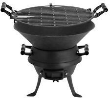 Benross Garden Patio Outdoor Camping Charcoal Cast Iron BBQ Barbecues Pit Grill