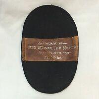 1910 Felt Cleaner Compliments of Ben Miller The Hatter Advertising Gift St Louis