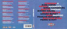 CD DIGIPACK 12T GAINSBOURG/MURAT/HIGELIN/BASHUNG/GERARD MANSET/MATHIEU BOOGAERTS