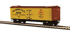 MTH 80-94041 HO Scale R40-2 Woodside Reefer Car HILLSBORO PALE BEER #3537
