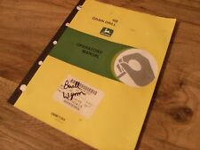 John Deere RB Grain Drill Operators Manual  **Worldwide**