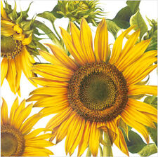 "Paper Luncheon Napkins 2x20 pcs 13""x13"" Big Sunflower Thanksgiving"