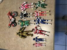 Vintage Power Rangers Action Figure Lot Flip Head 1994