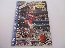 Carte NBA UPPER DECK 1992-93 FR #32 Clarence Weatherspoon Philadelphia 76ers