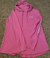 Vineyard Vines Women's •size Small• Long Sleeved Hooded Pink T-Shirt