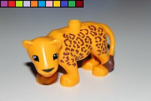 LEGO Duplo - Bigger Leopard - Animal - Zoo - Safari - New Model