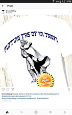 """Putting the Oy In Troy"" T-shirt Comedy Jewish Humor Troy, NY The Plotz Thickens"
