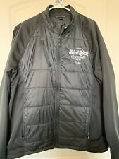 Hard Rock Hotel & Casino quilted jacket black 2xl