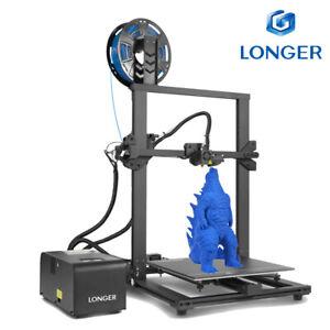 Longer LK 1 Imprimante 3D DIY Kit 300X300X400mm Grande Taille PLA Filament