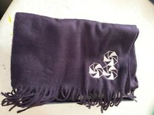 Aspinal of London - 100% Cashmere Scarf - Navy - BRAND NEW IN BOX - SLI