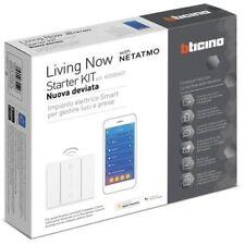 """BTICINO LIVING NOW K3000KIT Starter kit """"Nuova deviata"""" per gestire luci e prese"""