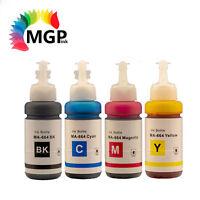 Compatible EPSON T664 EcoTank bottle ink (BK+C+M+Y) 70ML for ET2500  ET2550