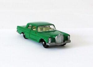 Vintage Lesney Matchbox #46 Mercedes Benz 300SE Regular Wheels GREEN XLNT 1968