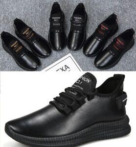 Men Waterproof Running Breathable Shoes Sports Casual Walking Athletic Sneakers