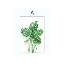 3D Green Plants Window Sticker Glass Sticker Frosted Glass Film Privacy Home Dec