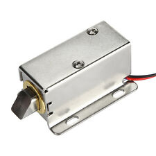 Electric Drawer Cabinet Deadbolt Lock Locksmith Latch Mini Desk Locker DC 12V #S