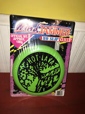 Imperial Wind Jammer Lime Green Hot Lava No Slip Grip Frisbee 1997 NIP!!