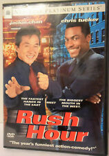 Rush Hour (DVD, 1999, Platinum Series) Jackie Chan Chris Tucker