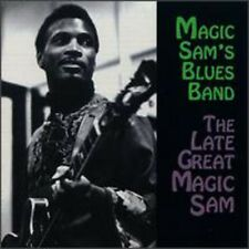 Magic Sam, Magic Sam Blues Band - Late Great Magic Sam [New CD]