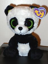 """Ty Beanie Boos ~ Bamboo the 6"""" Panda (2011 Generation Tags) ~Mint with Mint Tags"""
