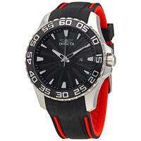Invicta Pro Diver Black Dial Mens Rubber Watch 25473