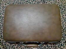 Vintage Escort Brown Hard Suitcase