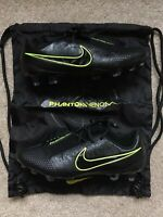 Nike Phantom Venom Elite FG Black Volt ACC Soccer Cleats AO7540-007 Men's Size 8