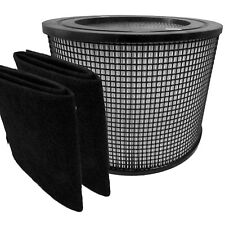 FILTER QUEEN DEFENDER HEPA AIR FILTER + 2 CARBON WRAPS
