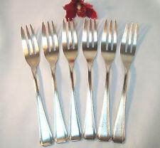 6 Gâteau fourchettes probablement Franz Mosgau fourchettes dessert Fourchette ezm/AX 139