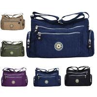 Women Tote Messenger Cross Body Handbag Hobo Bag Ladies Nylon Shoulder Bag Purse
