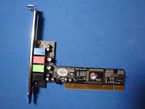 Startech PCISOUND4LP PM28738-2X2A 4 Channel Low Sound Card