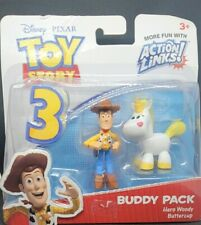 New listing Toy story action links Hero Woody And Buttercup New