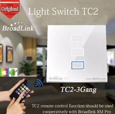 SH5 Broadlink TC2 3 Way Gang Wifi Wall Light Touch Switch Smart Home Automation