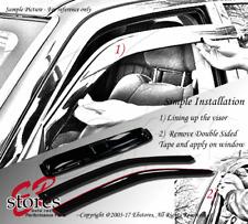 Vent Shade Out-Channel Window Visor Sunroof Type 2 3pc Suzuki Grand Vitara 99-05
