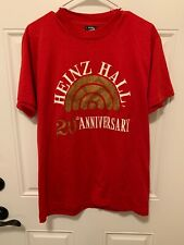 Vintage Heinz Hall 20th Anniversary T Shirt L Made In The USA Screen Stars PA