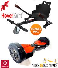 Black Lamborghini Hoverboard & HK5S HoverKart Bundle Deal Go Kart Conversion Kit