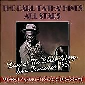 Live at the Black Sheep San Francisco 1961, The Earl 'Fatha' Hines All Stars Cd