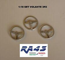 1/18 Volante steering wheel Racing Rally Sparco Design