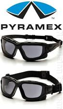 Pyramex I Force Smoke Gray Dual Anti Fog Lenses Safety Glasses Goggles Z87+