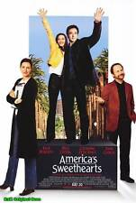 "MOVIE POSTER~America's Sweethearts 2001 27x40"" Original Julia Roberts B Crystal~"