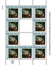 Nederland 2012 Ucollect Natuur 5 kikker frog frosh  vel postfris/mnh