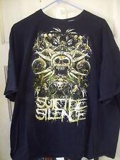 Suicide Silence T Shirt 2XL XXL Extreme Metal Riverside California Devil Skull