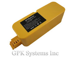 Battery for iRobot Roomba 400, 4000, 4905, iRobot 4210, 4905, 4210, 4220, 4230