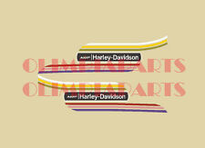 HARLEY DAVIDSON AMF SX 125 ADESIVI SERBATOIO TANK STICKERS