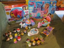 Fisher Price Little People Princess Palace Disney Castle Collection New No boxes