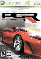 Project Gotham Racing 3 PLATINUM (Microsoft Xbox 360) GAME PGR3 FERRARI